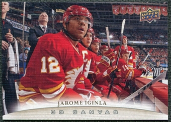 2011/12 Upper Deck Canvas #C16 Jarome Iginla
