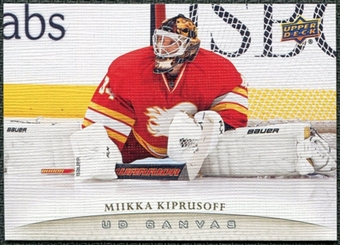 2011/12 Upper Deck Canvas #C18 Miikka Kiprusoff