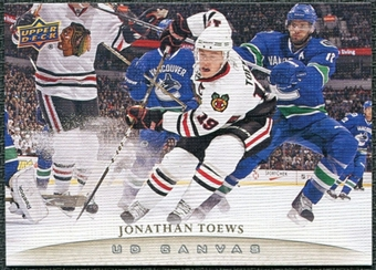 2011/12 Upper Deck Canvas #C23 Jonathan Toews
