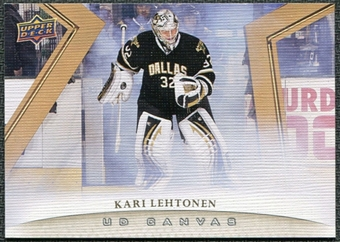 2011/12 Upper Deck Canvas #C31 Kari Lehtonen