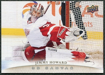2011/12 Upper Deck Canvas #C34 Jim Howard