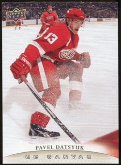 2011/12 Upper Deck Canvas #C36 Pavel Datsyuk