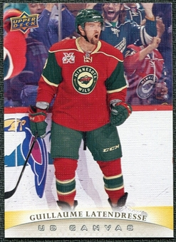 2011/12 Upper Deck Canvas #C44 Guillaume Latendresse