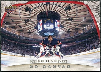 2011/12 Upper Deck Canvas #C56 Henrik Lundqvist
