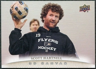2011/12 Upper Deck Canvas #C62 Scott Hartnell