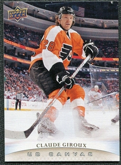 2011/12 Upper Deck Canvas #C63 Claude Giroux
