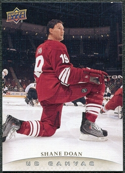 2011/12 Upper Deck Canvas #C64 Shane Doan