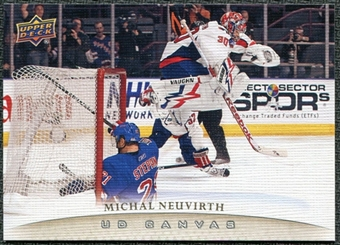 2011/12 Upper Deck Canvas #C84 Michal Neuvirth