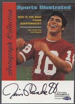 1999 Fleer Greats of the Game Football Jim Plunkett Auto