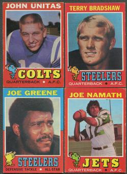 1971 Topps Football Complete Set (VG)