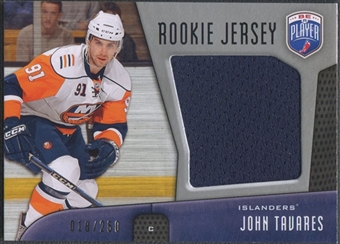 2009/10 Be A Player #RJJT John Tavares Rookie Jersey #018/250