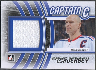 2011/12 ITG Captain-C #M36 Mark Messier Silver Jersey