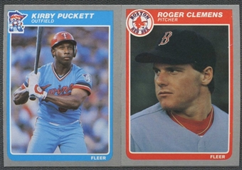1985 Fleer Baseball Complete Base and Update Sets (NM-MT)