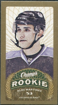 2009/10 Upper Deck Champ's Mini Blue Backs #102 Alec Martinez RC