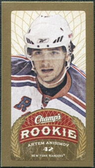 2009/10 Upper Deck Champ's Mini Blue Backs #106 Artem Anisimov RC