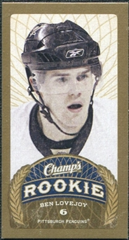 2009/10 Upper Deck Champ's Mini Blue Backs #107 Ben Lovejoy RC