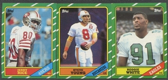 1986 Topps Football Factory Set