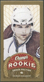 2009/10 Upper Deck Champ's Mini Blue Backs #121 Derek Peltier RC