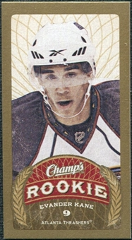 2009/10 Upper Deck Champ's Mini Blue Backs #124 Evander Kane RC