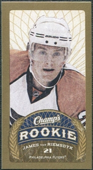 2009/10 Upper Deck Champ's Mini Blue Backs #131 James van Riemsdyk RC