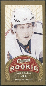 2009/10 Upper Deck Champ's Mini Blue Backs #136 Jay Beagle RC