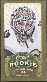2009/10 Upper Deck Champ's Mini Red Backs #139 Jhonas Enroth RC