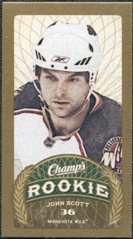 2009/10 Upper Deck Champ's Mini Red Backs #143 John Scott RC