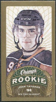2009/10 Upper Deck Champ's Mini Blue Backs #144 John Tavares RC