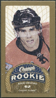 2009/10 Upper Deck Champ's Mini Red Backs #148 Kris Chucko RC