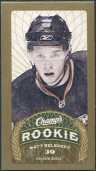 2009/10 Upper Deck Champ's Mini Red Backs #151 Matt Beleskey RC