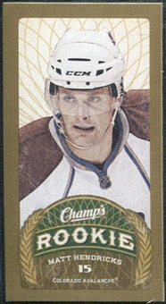 2009/10 Upper Deck Champ's Mini Blue Backs #155 Matt Hendricks RC