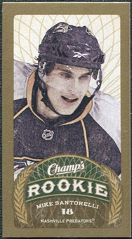 2009/10 Upper Deck Champ's Mini Red Backs #164 Mike Santorelli RC