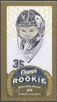 2009/10 Upper Deck Champ's Mini Blue Backs #169 Riku Helenius RC