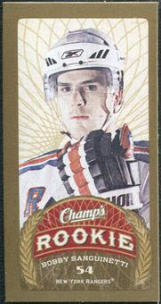 2009/10 Upper Deck Champ's Mini Blue Backs #170 Bobby Sanguinetti RC