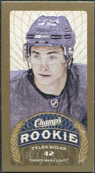 2009/10 Upper Deck Champ's Mini Blue Backs #184 Tyler Bozak RC