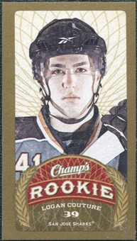 2009/10 Upper Deck Champ's Mini Blue Backs #192 Logan Couture RC
