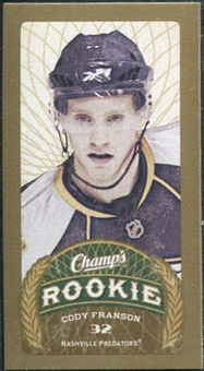 2009/10 Upper Deck Champ's Mini Blue Backs #195 Cody Franson RC