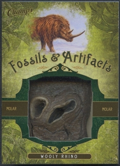 2011/12 Parkhurst Champions Fossils & Artifacts #FAWR Wooly Rhino Molar