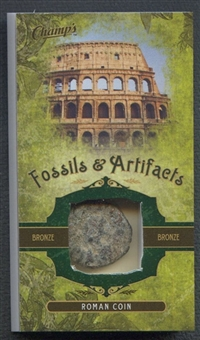 2011/12 Parkhurst Champions Fossils & Artifacts #FARC Roman Coin Bronze