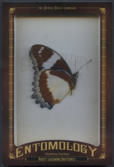 2011 Upper Deck Goodwin Champions Entomology #ENT22 Rusty Lace Wing Butterfly