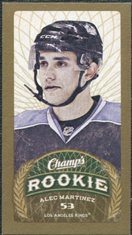 2009/10 Upper Deck Champ's Mini Green Backs #102 Alec Martinez RC