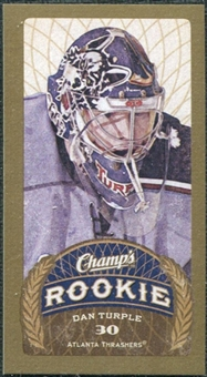 2009/10 Upper Deck Champ's Mini Green Backs #116 Dan Turple RC