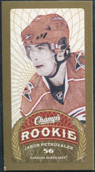 2009/10 Upper Deck Champ's Mini Red Backs #130 Jakub Petruzalek RC