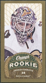 2009/10 Upper Deck Champ's Mini Green Backs #139 Jhonas Enroth RC