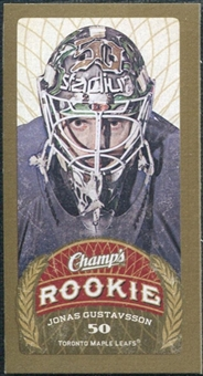 2009/10 Upper Deck Champ's Mini Green Backs #145 Jonas Gustavsson RC