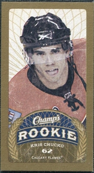 2009/10 Upper Deck Champ's Mini Green Backs #148 Kris Chucko RC