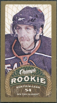 2009/10 Upper Deck Champ's Mini Green Backs #149 Kurtis McLean RC