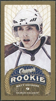 2009/10 Upper Deck Champ's Mini Green Backs #153 Matt Duchene RC