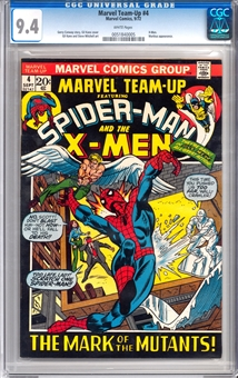 Marvel Team-Up #4 CGC 9.4 (W) *0051840005*