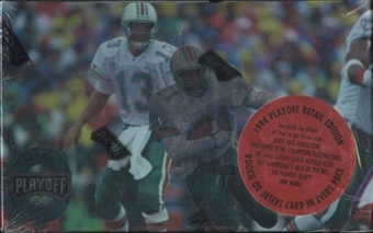 1994 Playoff Football Retail Box (Barry Sanders Inserts)